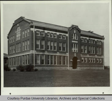 Michael Golden Lab (formerly the New Shops, Practical Mechanics). No Date. Photograph courtesy of the Class of 1950.