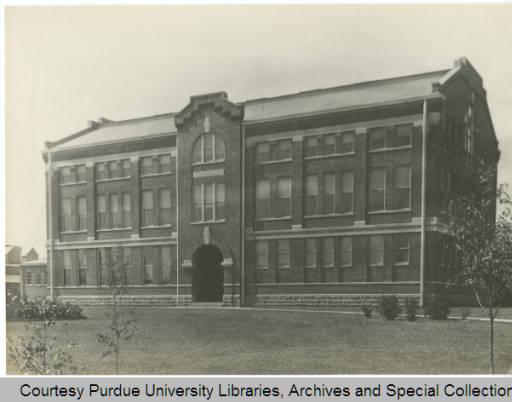 Exterior photograph of Michael Golden Labs, 1929?