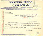 Telegram, 1928 June 19, Oakland, Calif., to Miss Amelia Earhart, London