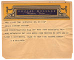 Telegram, 1932 June 20, New Castle, Del., to Amelia Earhart Putnam