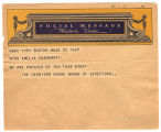 Telegram, 1932 June 20, Boston, Mass., to Miss Amelia Earhart