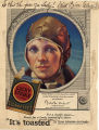 Lucky Strike Cigarettes advertisement featuring Amelia Earhart