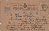 Telegram, 1928 June 18, to Miss Amelia Earhart, Burry Port
