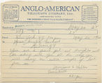Telegram, 1932 May 20, New York, N.Y., to Miss Amelia Earhart, Harbor Grace, N.F.