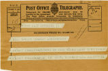 Telegram, 1932 May 21, Uxbridge, to Miss Amelia Earhart, Londonderry