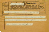 Telegram, 1932 May 21, Boston, to Mrs. Amelia Earhart Putnam, Londonderry