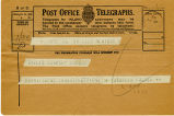 Telegram, 1932 May 21, New York, to Amelia Earhart, Londonderry
