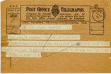 Telegram, 1932 May 22, New York, to Amelia Earhart, Culmore, Londonderry