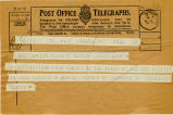 Telegram, 1932 May 22, Kansas City, Kans., to Amelia Earhart Putnam, Londonderry