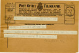 Telegram, 1932 May 22, Englewood, NJ, to Amelia Earhart, Londonderry