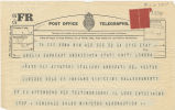 Telegram, 1932 May 24, Rome, to Amelia Earhart, London