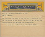 Telegram, undated, Billings, Mont., to Amelia Earhart