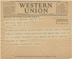Telegram, 1932 June 22, Madison, Conn., to Mrs. Price