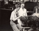 Amelia Earhart and Wiley Post