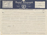 Telegram, circa 1937, to George Palmer Putnam