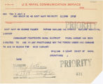 Telegram, 1937 July 2, Washington, DC, to George Palmer Putnam, Oakland, Calif.