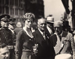 Amelia Earhart and Vice President Charles Curtis