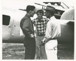 Amelia Earhart, Fred Noonan, and Henry Edward Linam
