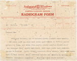 Telegram, 1937 July 1, Tutilla, to Earhart, Lae