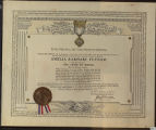 Certificate, 1932 June 20, United States Flag Association