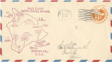 Envelope, 1934 Oct. 8, to Mrs. L. Hellengworth, Honolulu, Hawaii