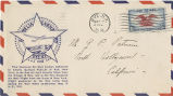 Envelope, 1938 May 19, to Mr. G.P. Putnam, North Hollywood, California