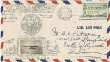 Envelope, 1937 Nov. 26 to Mr. G.P. Putnam, North Hollywood, California
