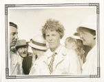 Amelia Earhart and others at the 1933 Air Races