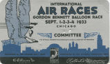 Committee pass, International Air Races