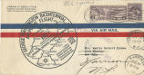Postal cover, George Washington Bicentennial Airplane Flight