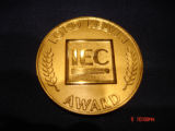 Medal, International Electrotechnical Commission Lord Kelvin Award, 2008