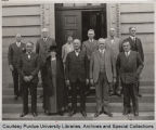 Purdue Board of Trustees with President Elliott, 1930