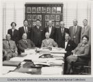 Purdue Board of Trustees with Frederick Hovde