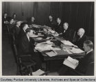 Purdue Board of Trustees with President Elliott, 1941