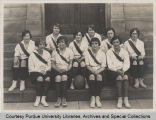 Purdue varsity women's basketball team, 1926