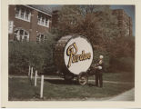 Purdue big bass drum