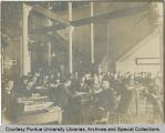 University Hall, faculty meeting
