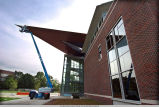 Neil Armstrong Hall of Engineering construction