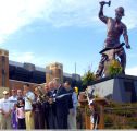 Boilermaker, statue, dedication ceremony