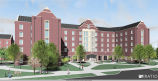 Purdue University new residence hall