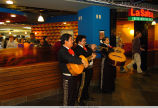 Mariachi band playing for grand opening celebration of Union Commons