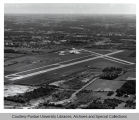 Purdue University Airport, aerial view