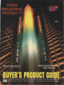 Memorial Mall Water Sculpture on cover of Vierk Industrial Products cover
