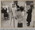 Art classroom at Purdue North Central