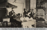 Men working in lab