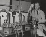 Man working in laboratory