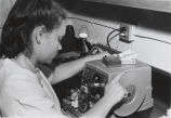 Woman working in laboratory