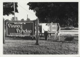 Sign at Pinney Purdue Agricultural Center