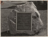 Pinney-Purdue Farm memorial marker