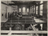 Turbine room in workshop